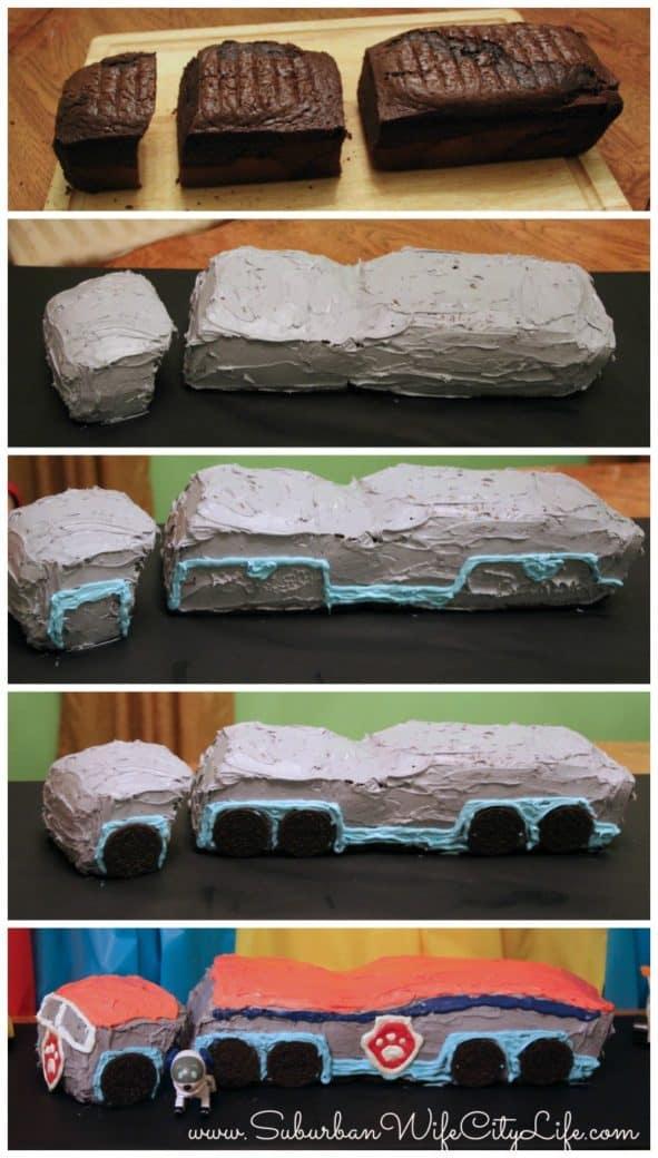 """""""Steps for Paw Patroller cake"""""""