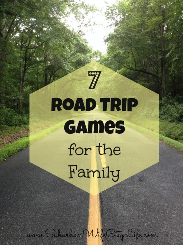 """""""7 Road Trip Games for the Family"""""""