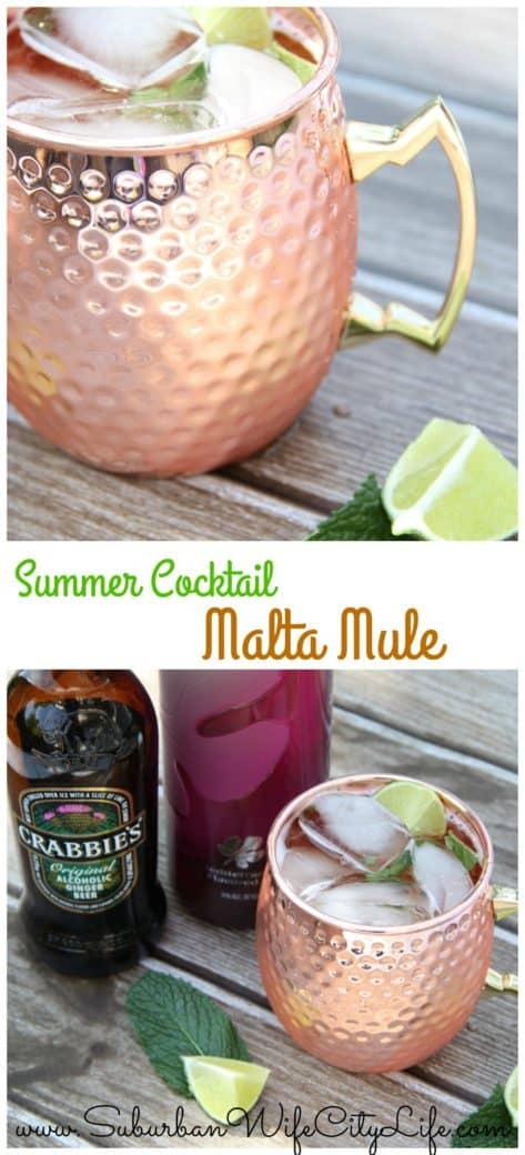 #MaltaMule Summer Cocktail