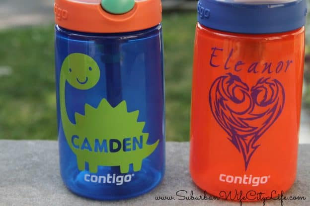 Personalized Water Bottle with Cricut