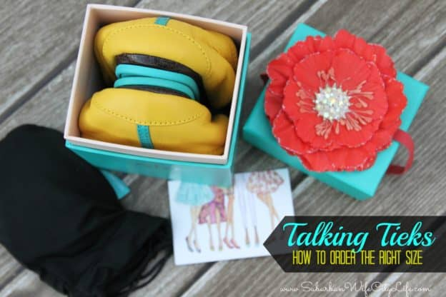 Talking Tieks How to order the right size