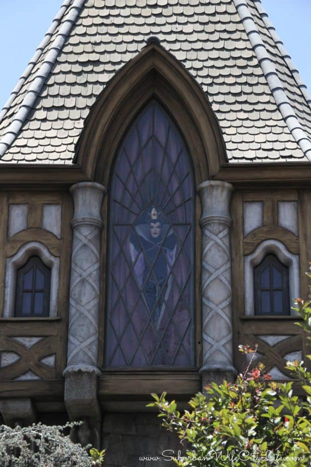 Disneyland Evil Queen watching over