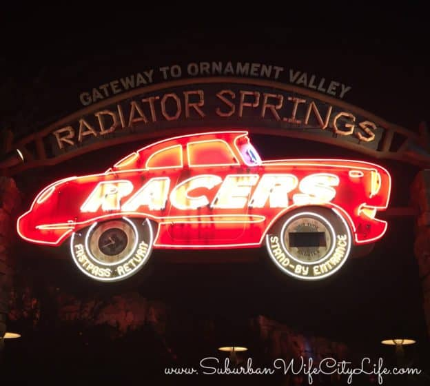 Disneyland Radiator Springs Racers