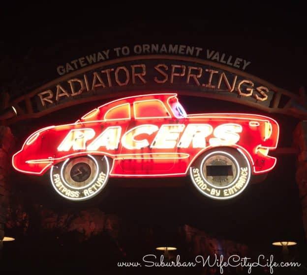 Disneyland Radiator Springs Racers