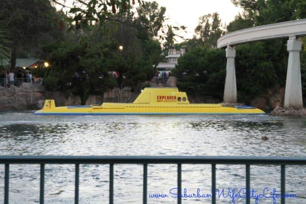 Disneyland Submarine