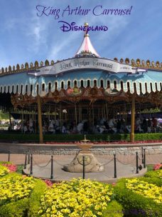 King Arthur Carrousel Disneyland