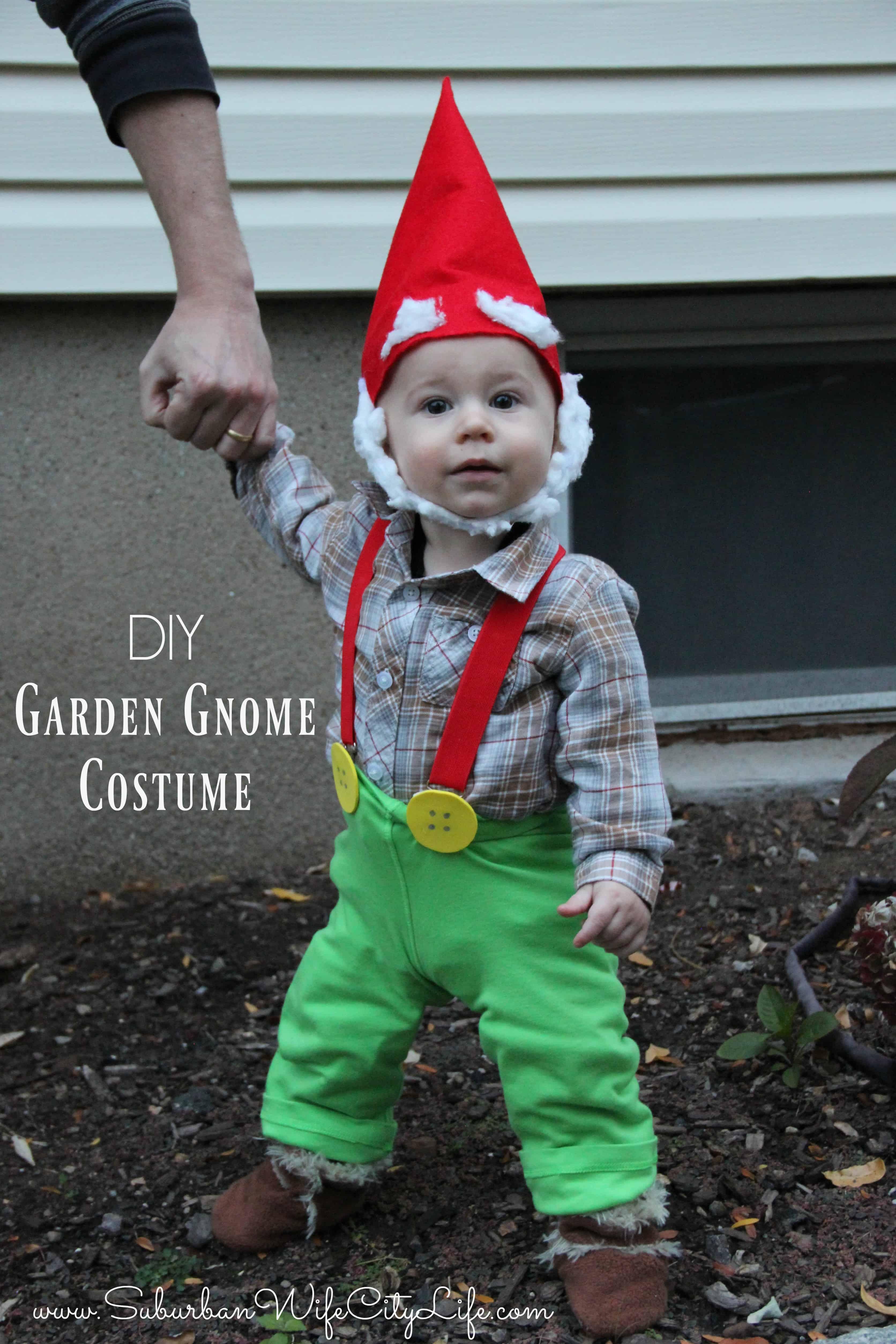Garden Gnome Costume Suburban Wife City Life