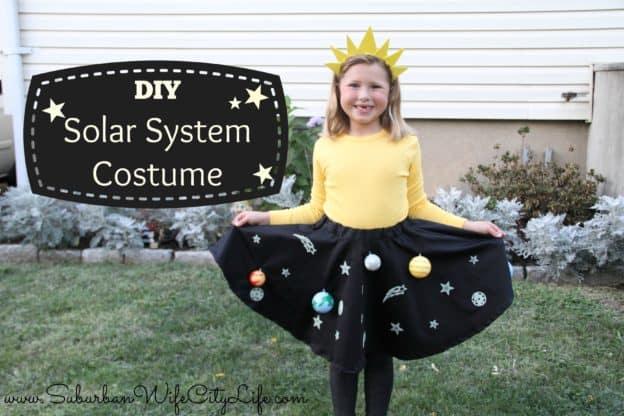 DIY Solar System Costume