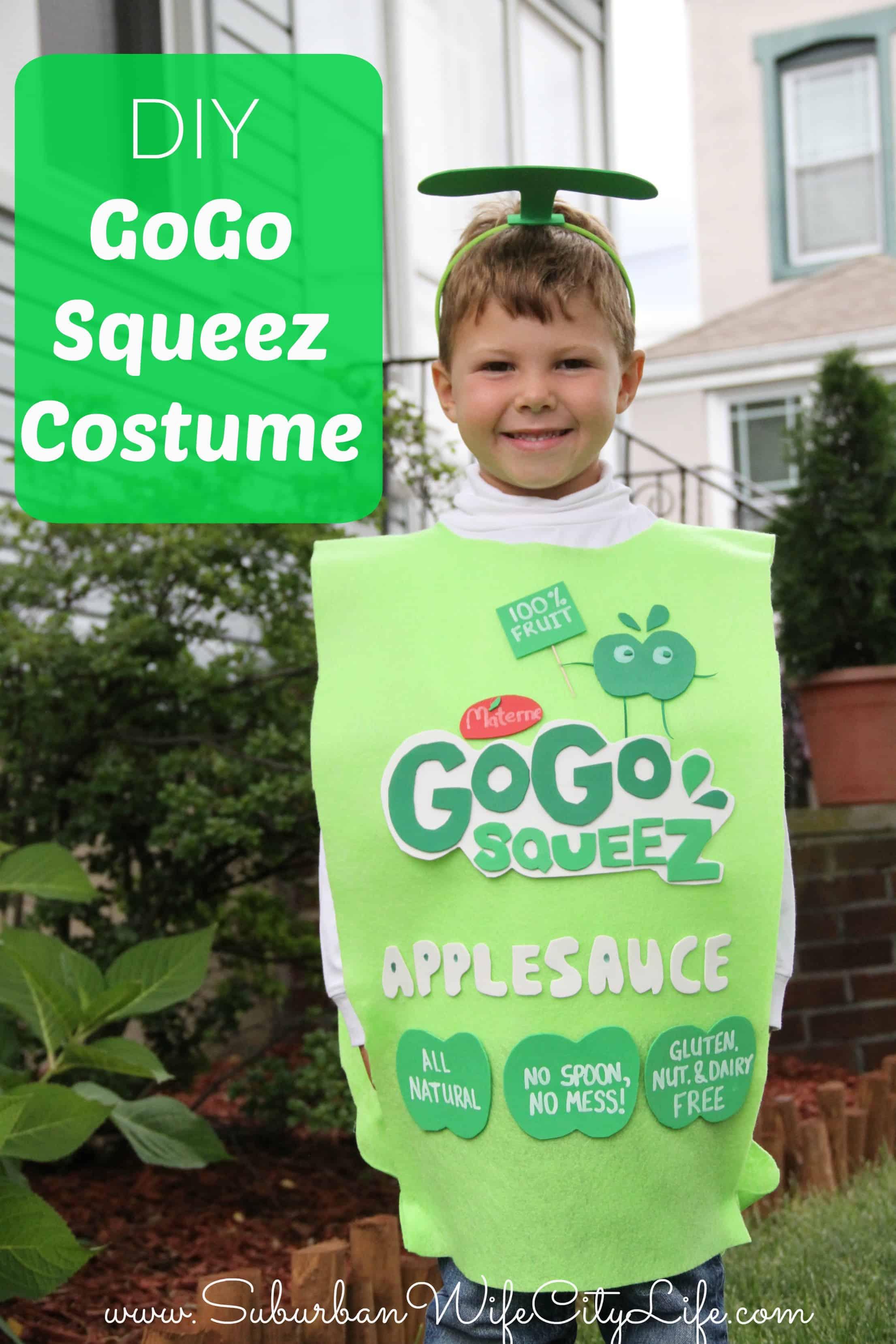 DIY GoGo Squeez Costume