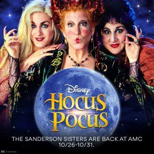 Hocus Pocus Back in Theaters 2018