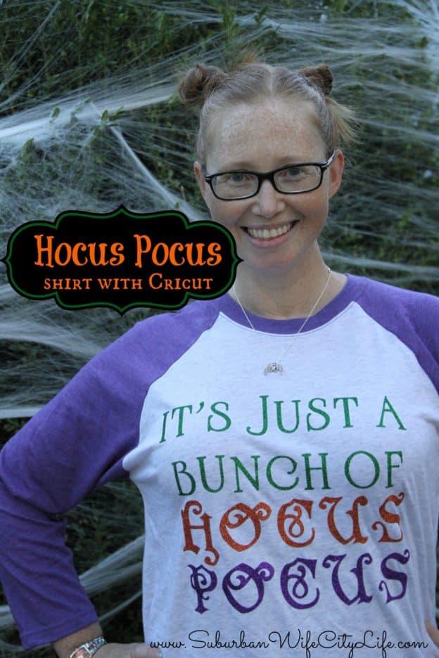 Hocus Pocus DIY shirt with Cricut