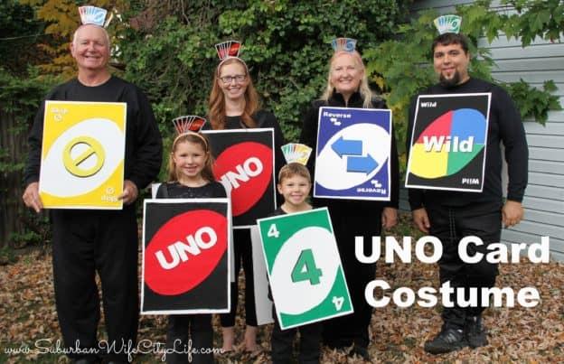 UNO Card Costume
