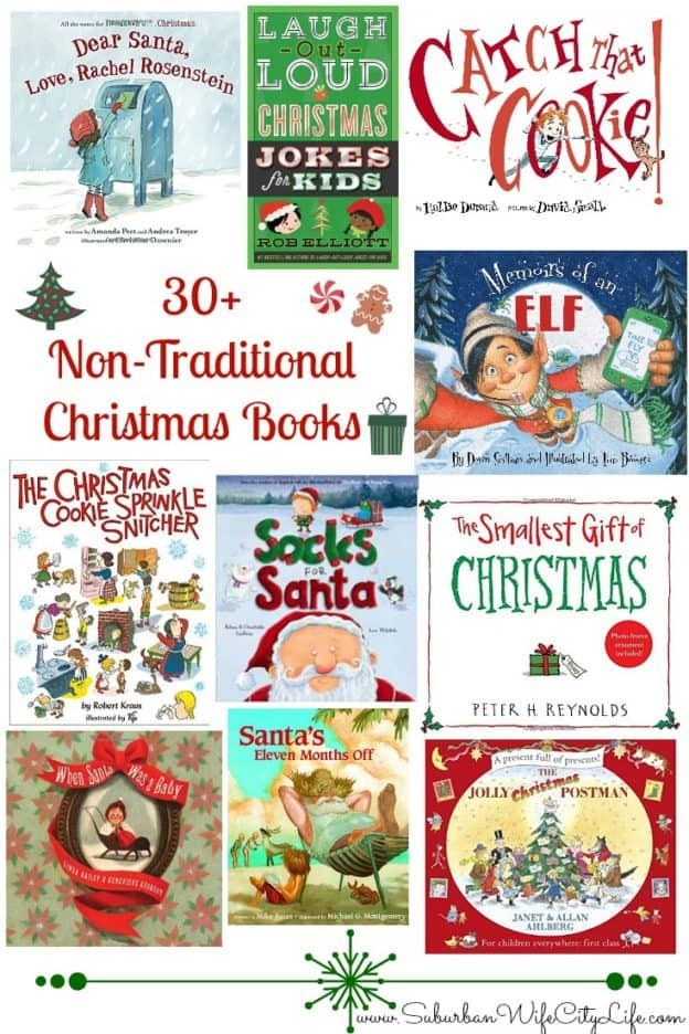 30+ Non-Traditional Christmas Books