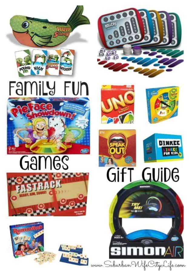 Family Fun Games Gift Guide