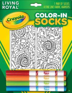 Crayola Color in Socks