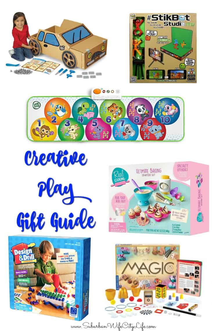 Creative Play Gift Guide for Kids
