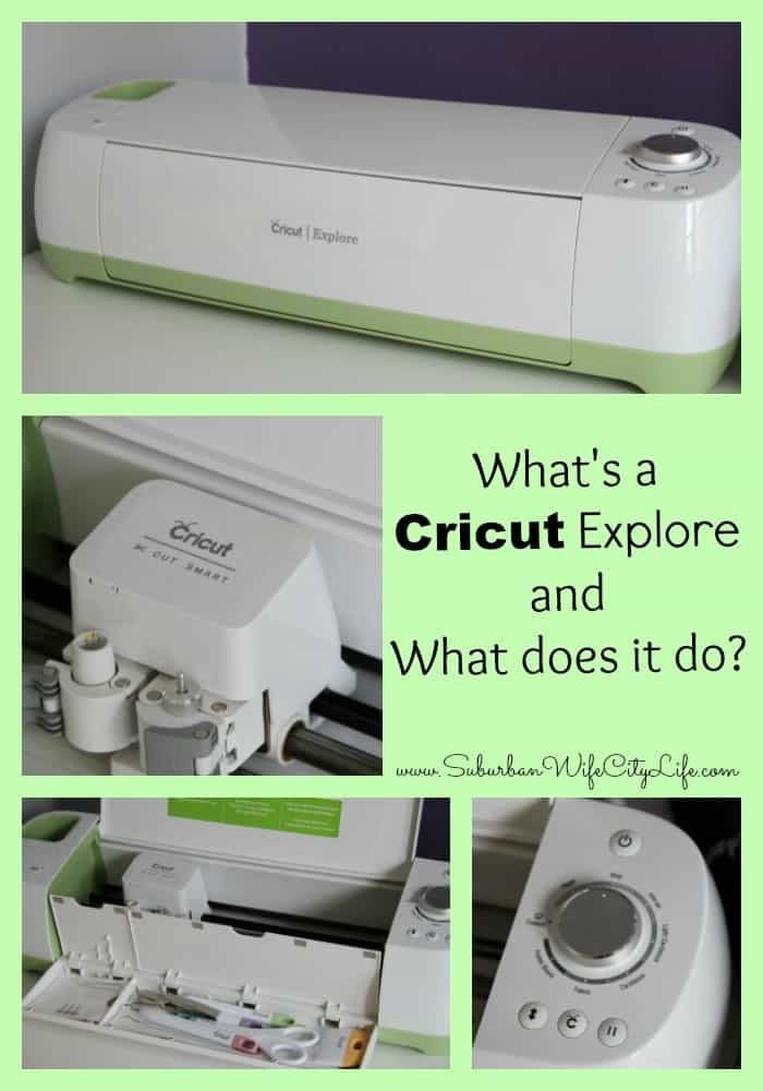 What's a Cricut Explore and what does it do?