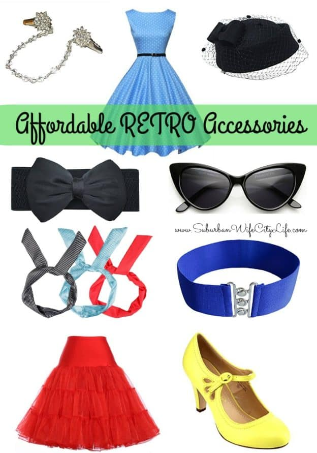 Affordable Retro Accessories