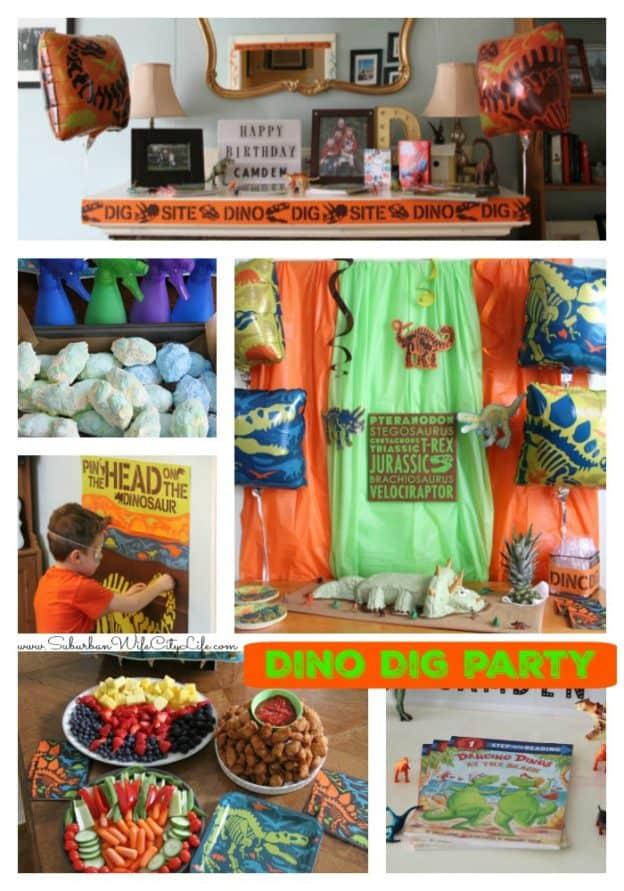 Dino Dig Birthday Party