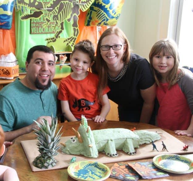 Dino Dig Camden's 5th Birthday