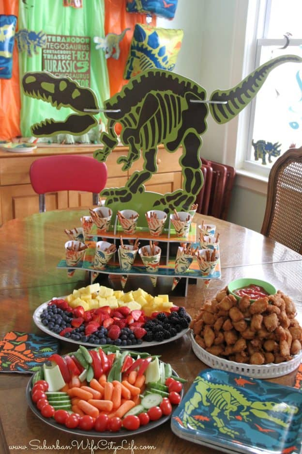 Dino Dig Food Ideas