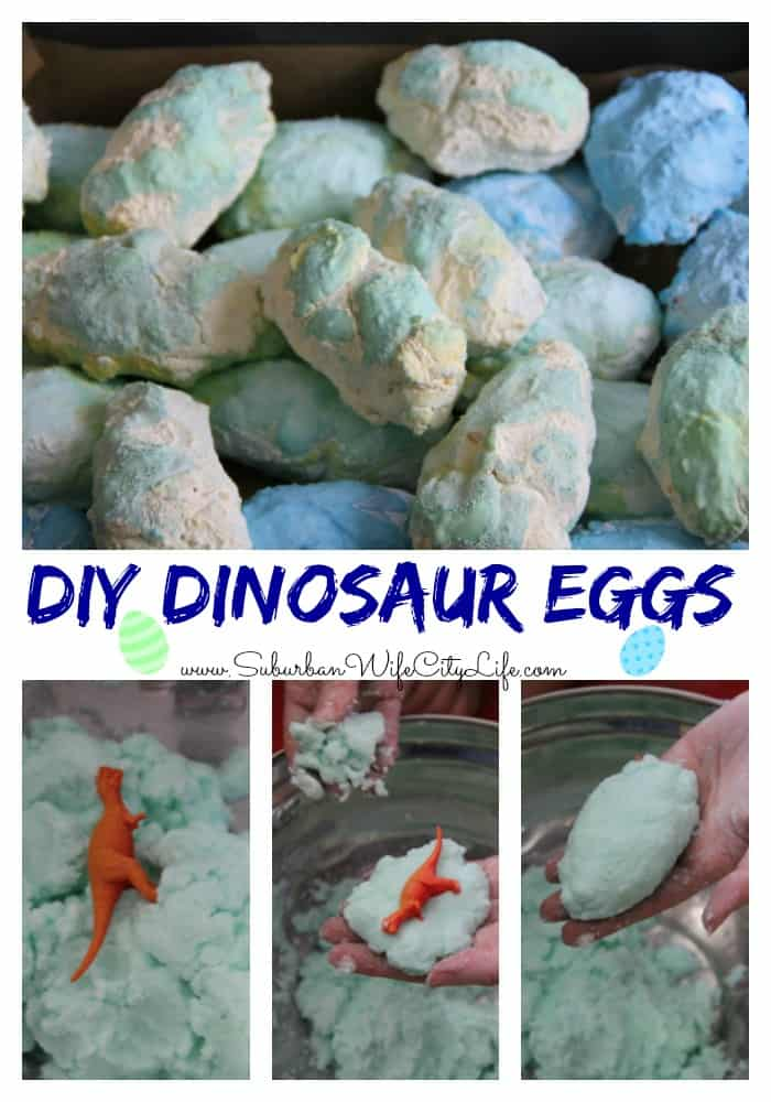 DIY Dinosaur Eggs