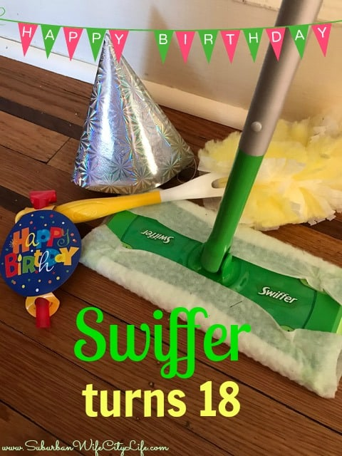 Swiffer turns 18