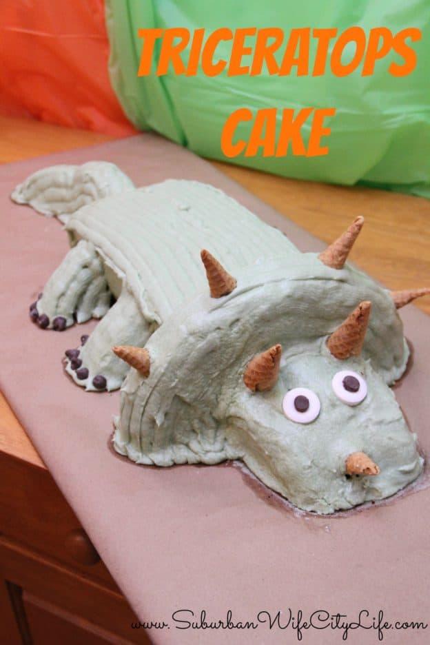 Triceratops Cake DIY