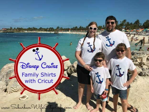 Disney Cruise shirts with Cricut
