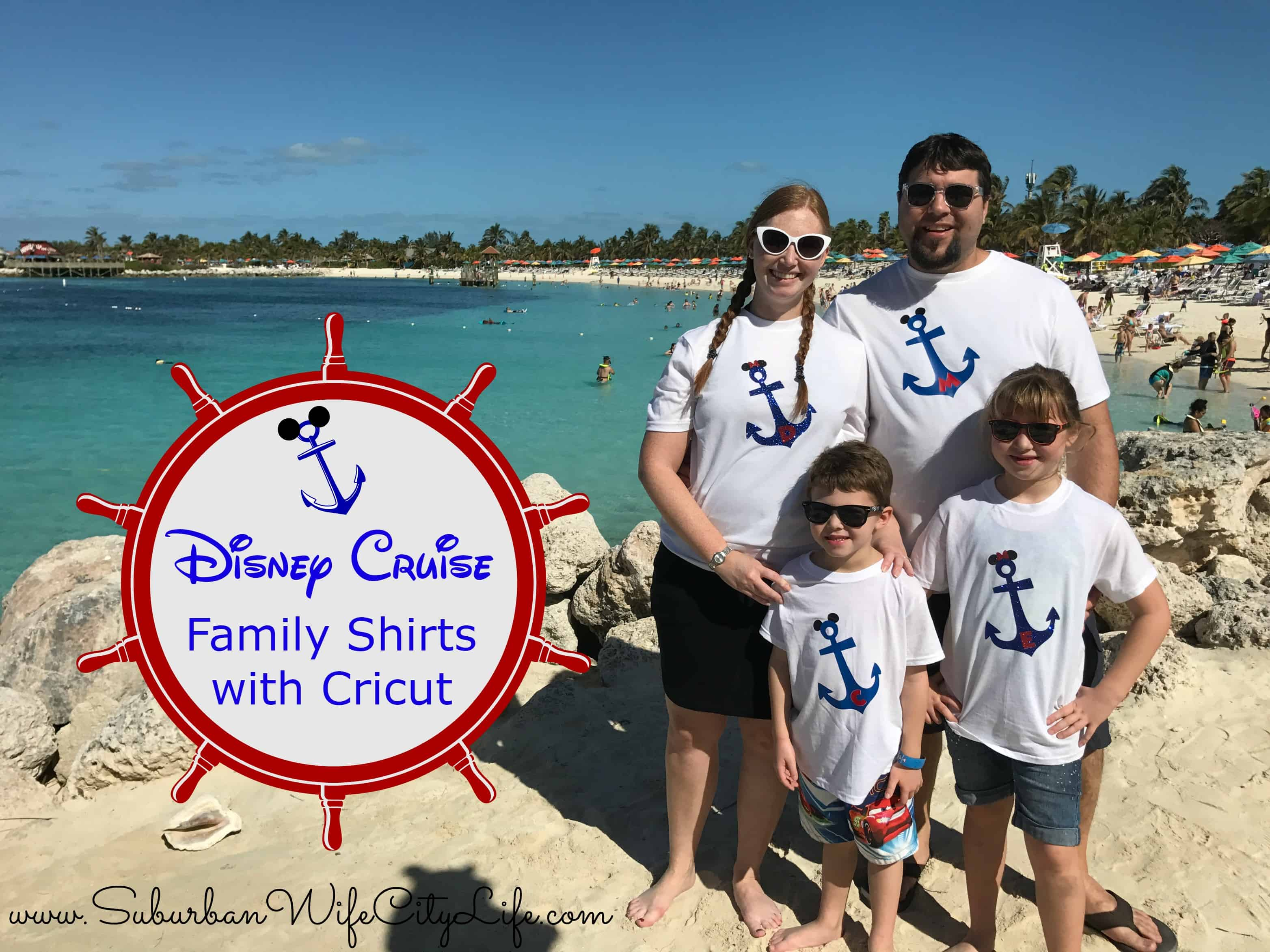 Disney Cruise Family Shirts With Cricut Suburban Wife