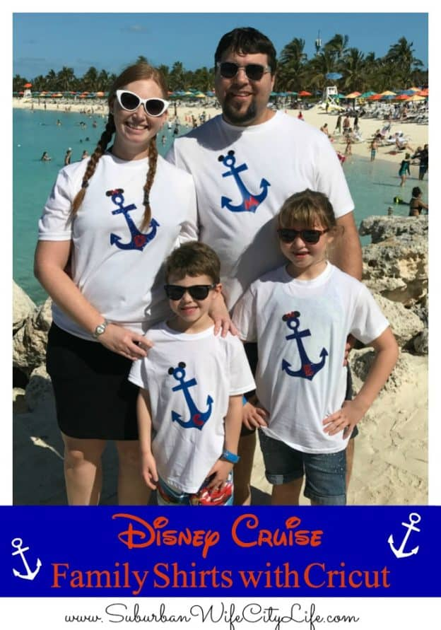 Disney Cruise Family Shirts with Cricut