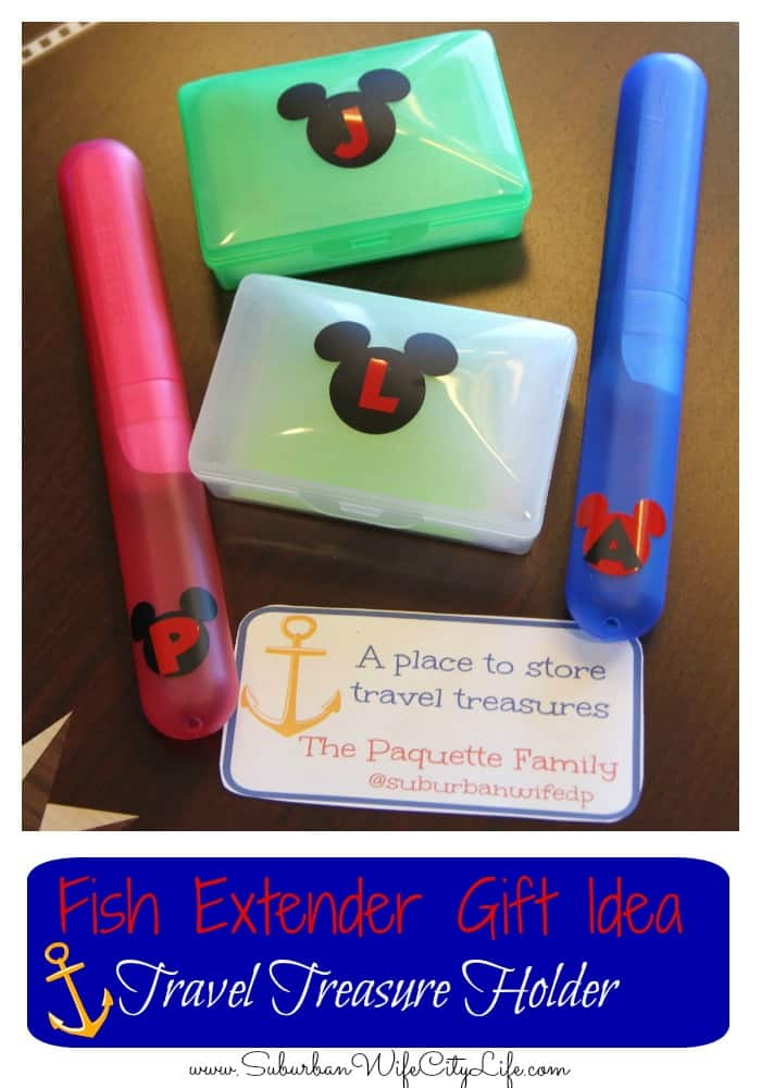 Fish Extender Gift Idea- Travel Treasures