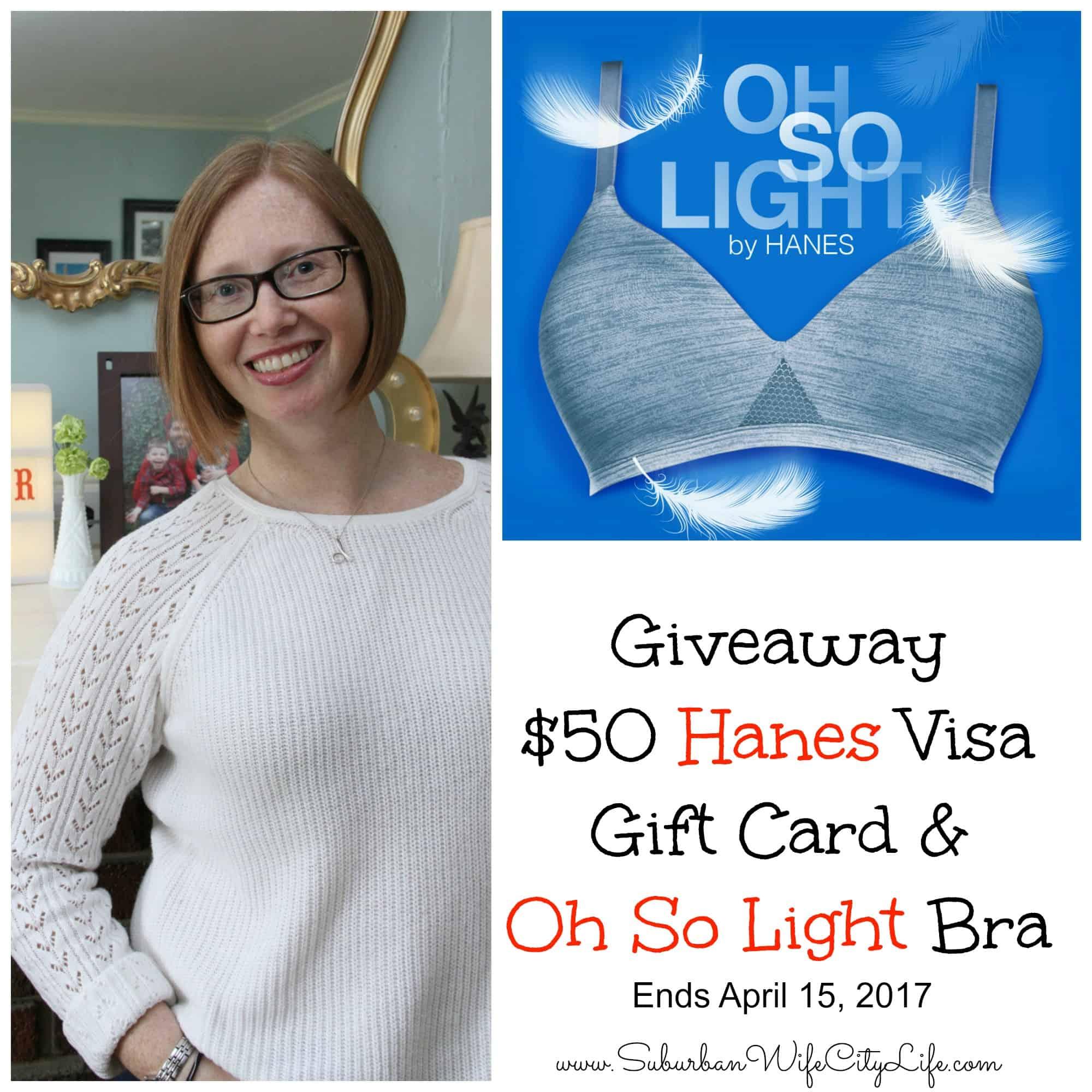 Hanes $50 Visa Gift Card Giveaway