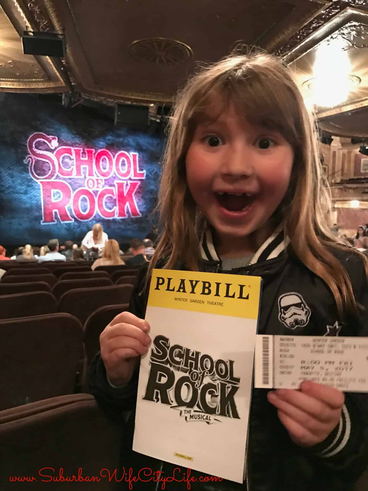 1st Broadway Show – School of Rock