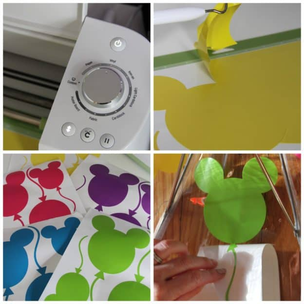 How to make a Disney Balloon Umbrella with Cricut