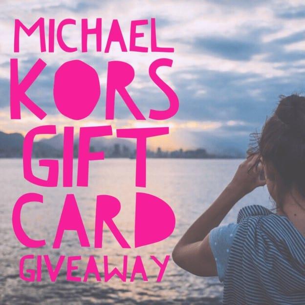 Michael Kors gift Card Giveaway May 2017