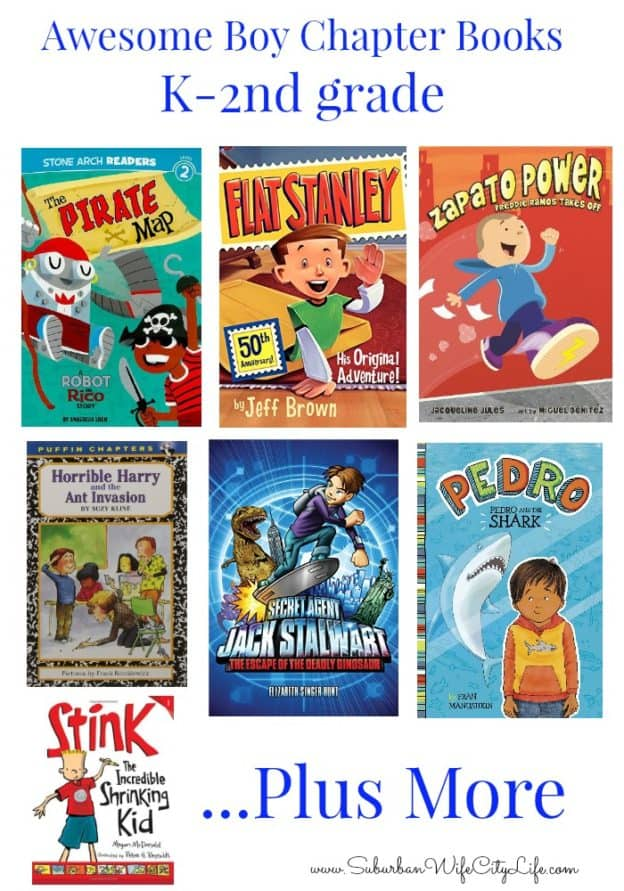 Awesome Boy chapter books