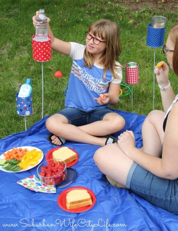 #BlueLizard Summer Outdoor Cupholder