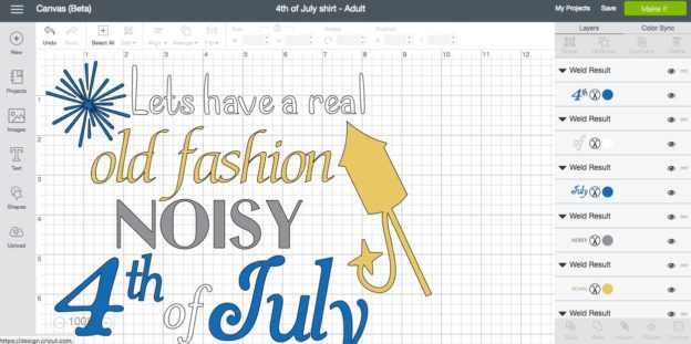 Cricut 4th of July Design Space