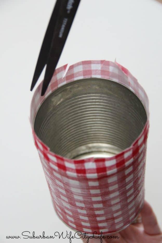 DIY outdoor cupholder steps