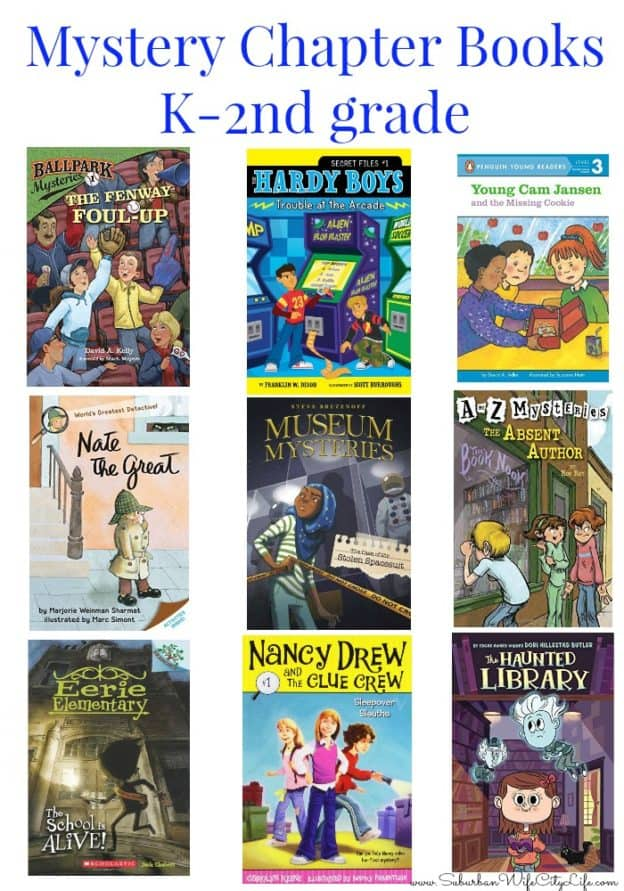 Mystery Chapter Books K-2nd Grade