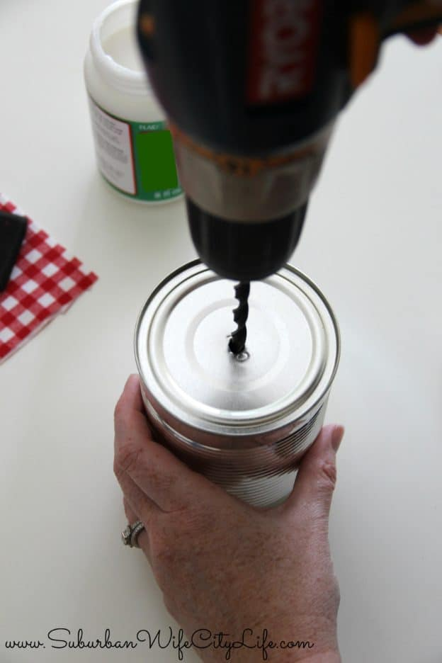 Outdoor cupholder step