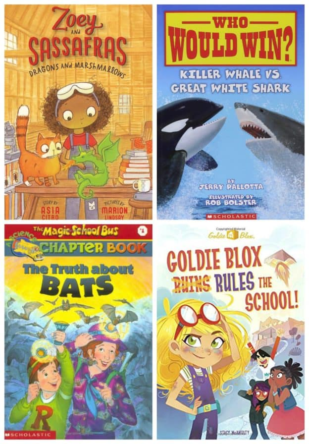 STEM Chapter Books K-2nd Grade