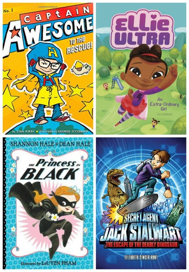Super Kids Save the Day Chapter Books K-2nd grade