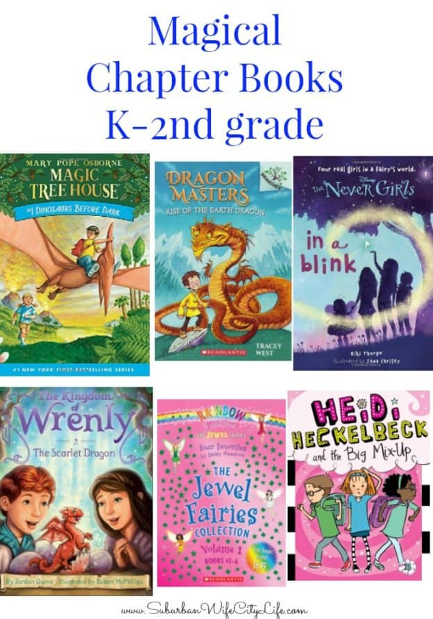 magical chapter books Kindergarten-2nd grade