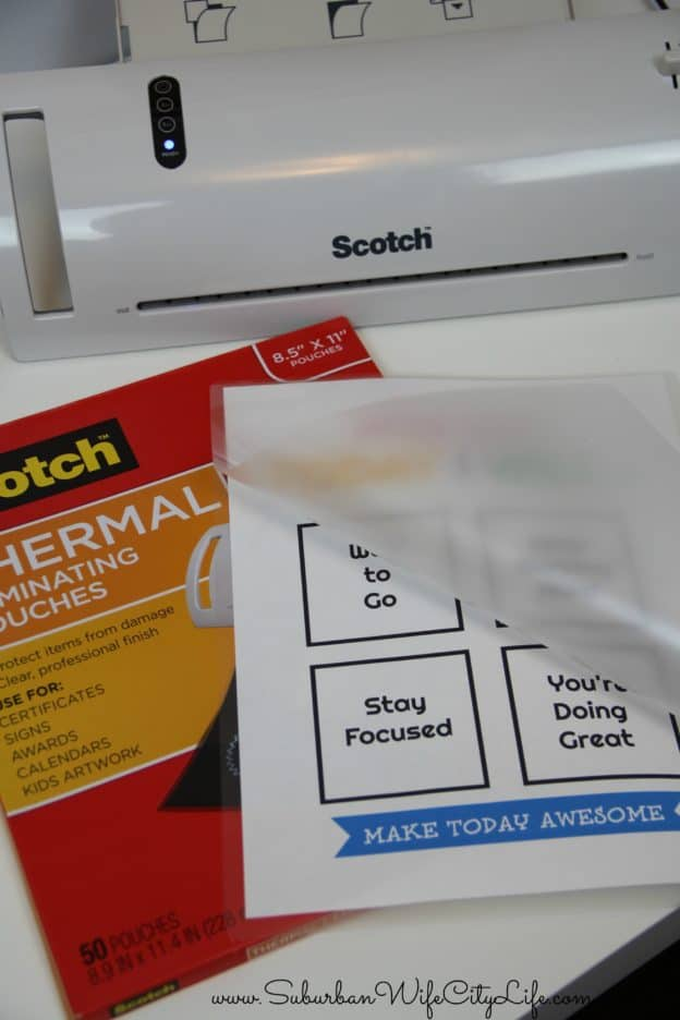 Scotch Thermal Laminating How to