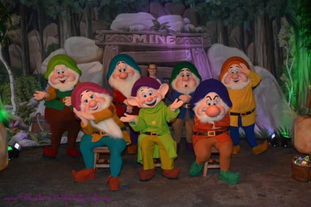 Seven Dwarfs Mickey's Not so scary Halloween Party