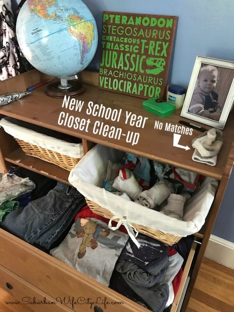 Closet Clean-up with Hanes