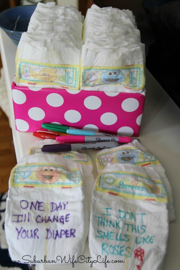 Diaper Gift Game Idea