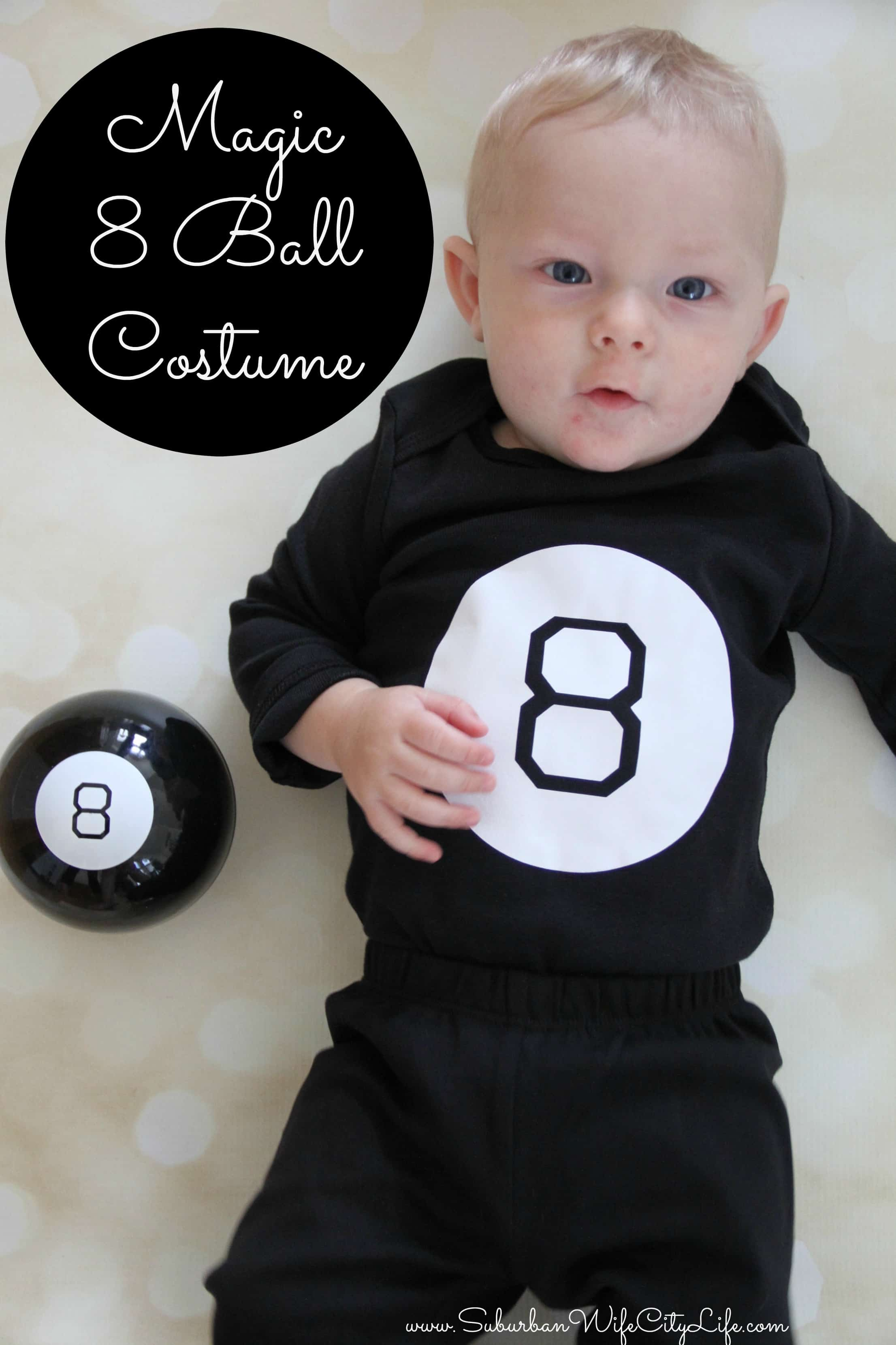 Magic 8 Ball Costume DIY